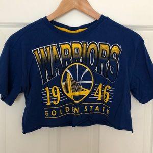 Warriors crop top!